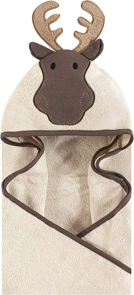 Hudson Baby Unisex Baby Animal Face Hooded Towel, Mint Bunny 1 ...