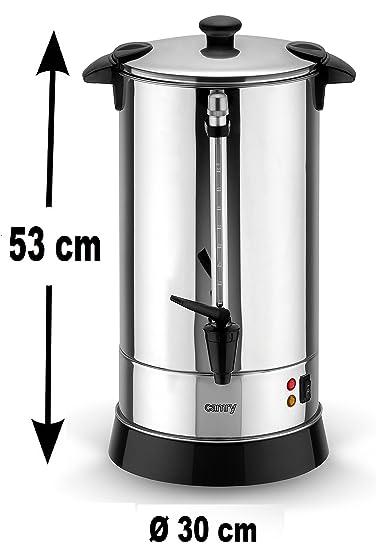 20 litros - Dispensador de agua caliente vino caliente ...