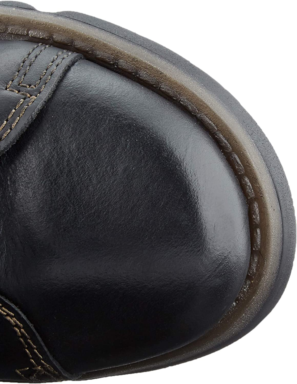 Vlieg Londen vrouwen Syas652fly knie hoge laarzen Zwart
