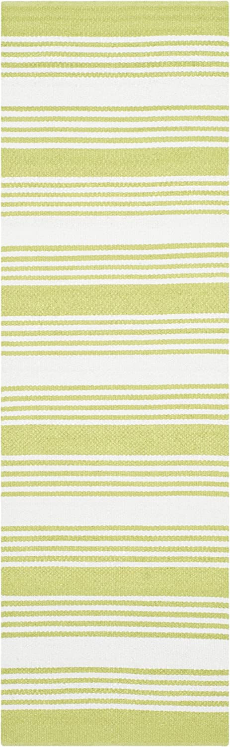 Amazon Com Safavieh Thom Filicia Collection Tmf155d Handmade Modern Runner 2 X 8 Green Furniture Decor