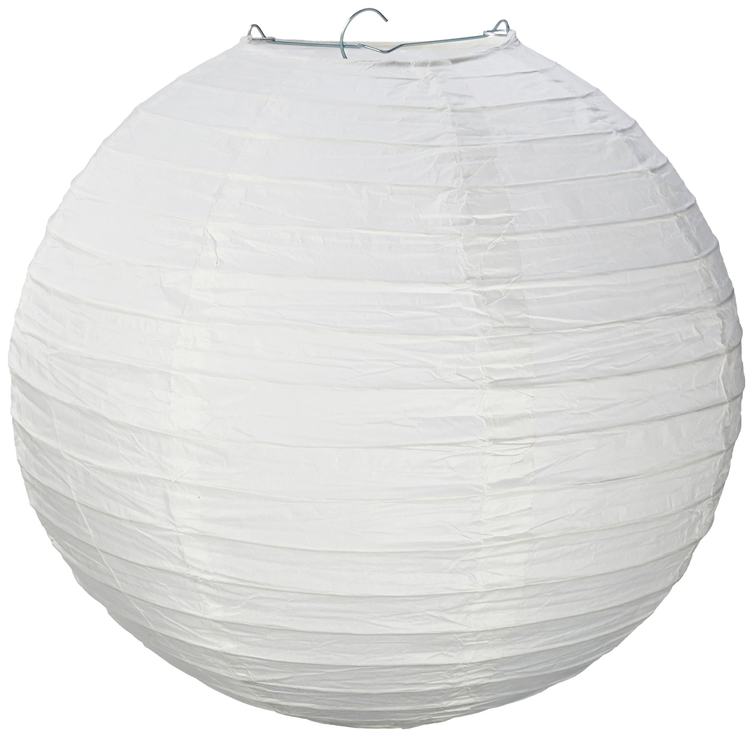 Science Purchase GEN75465 White Paper Lantern Lamp Shades 12 Pack, 13'' x 12'' x 1''