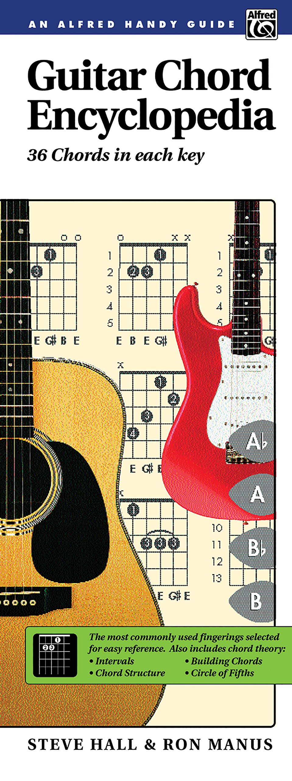 Guitar Chord Encyclopedia 36 Chords In Each Key Comb Bound Book