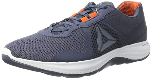 Reebok Astroride Duo Edge, Zapatillas de Running para Hombre, Azul (Smoky Indigo/Energy Orange/White/Alloy), 45 EU