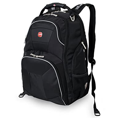 Amazon.com: Swissgear Laptop Backpack Fits Most 17-Inch Laptops ...