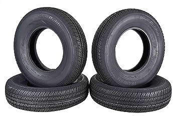 Amazon.com: Cuatro neumáticos para remolque ST235/80R16 de ...