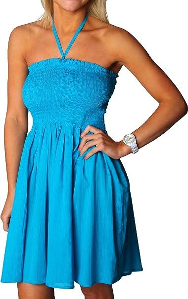buy popular 092aa fc531 Alki'i - Copricostume - donna blu blu: Amazon.it: Abbigliamento