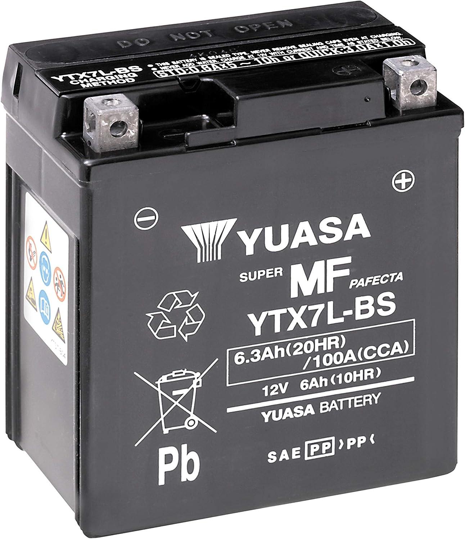 Batería Yuasa YTX7L-BS (WC) sin mantenimiento