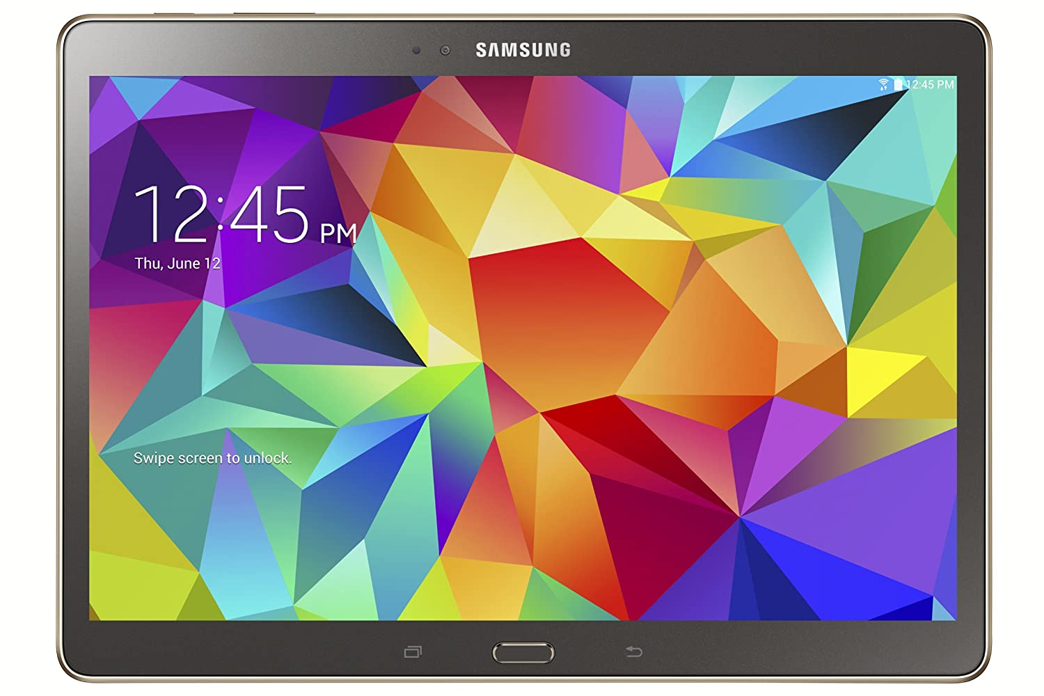 Amazon : Samsung Galaxy Tab S 105inch Tablet (16 Gb, Titanium Bronze)  :puters & Accessories