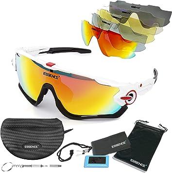 Essence polarizada deportes gafas de sol/ciclismo para hombres ...