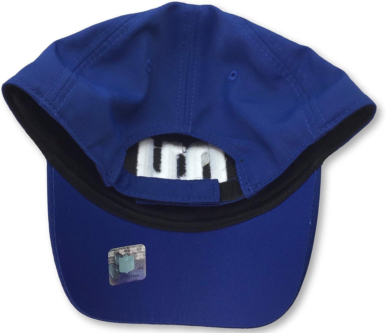 NFL Team Apparel New York Giants Name Logo Adult Mens Adjustable Cap Hat