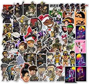 Apex Legends Stickers Gaming Stickers for Laptop Water Bottle Hydro Flask Car Bumper Skateboard Luggage Decal Graffiti Patches Sticker Game Party Favor for Gamer Adult
