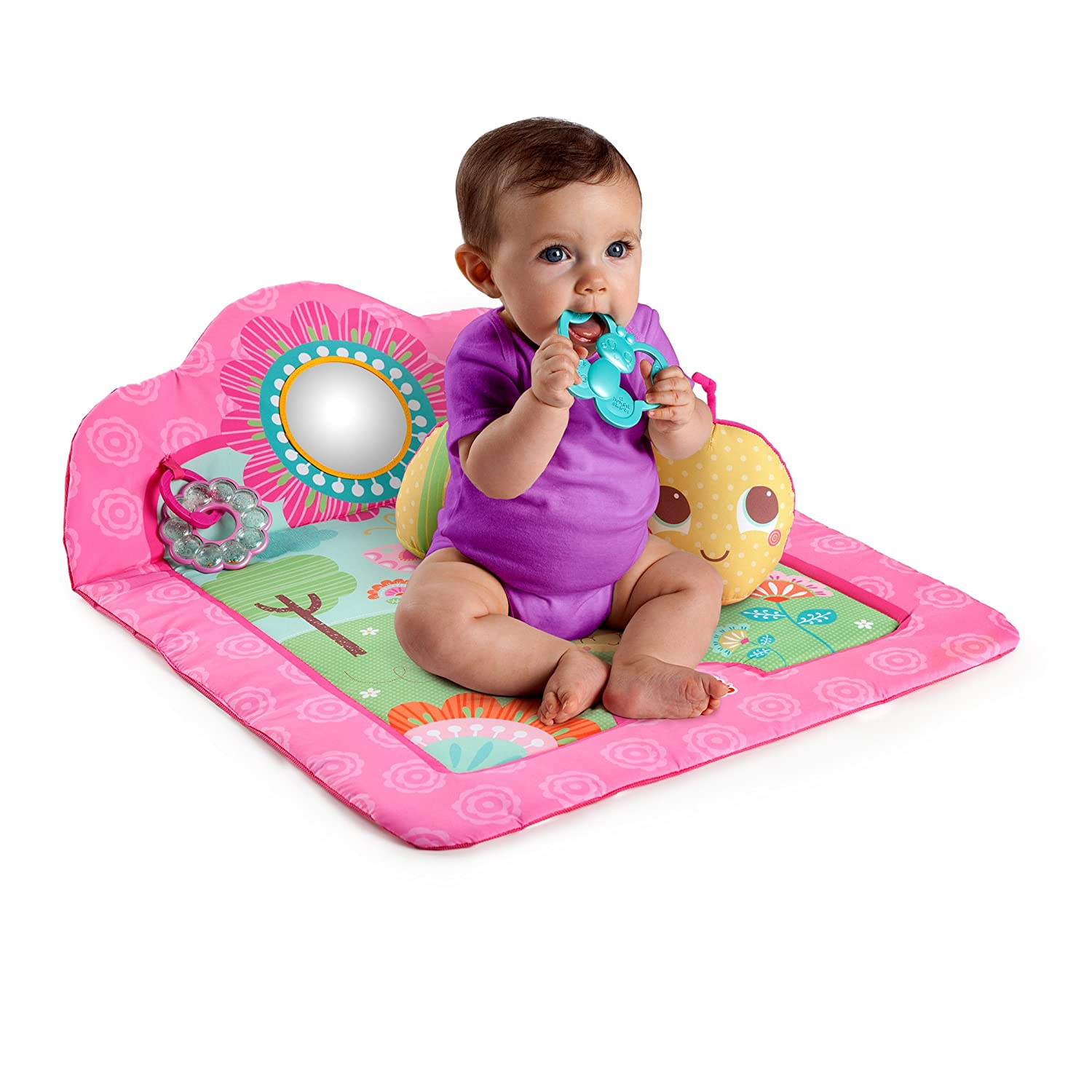 Bright Starts Deluxe Tummy Time Play Mat