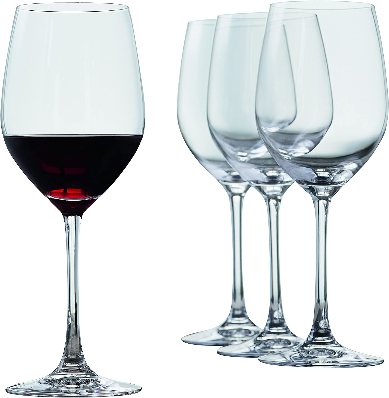 Spiegelau Vino Grande Red Wine Glasses Bar Cart, Cocktail Drinkware, 15 oz, Clear