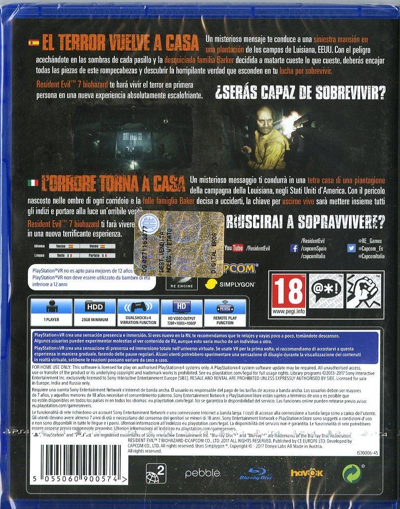 Resident Evil 7: Biohazard + Konix Ragnarok - Auriculares ...