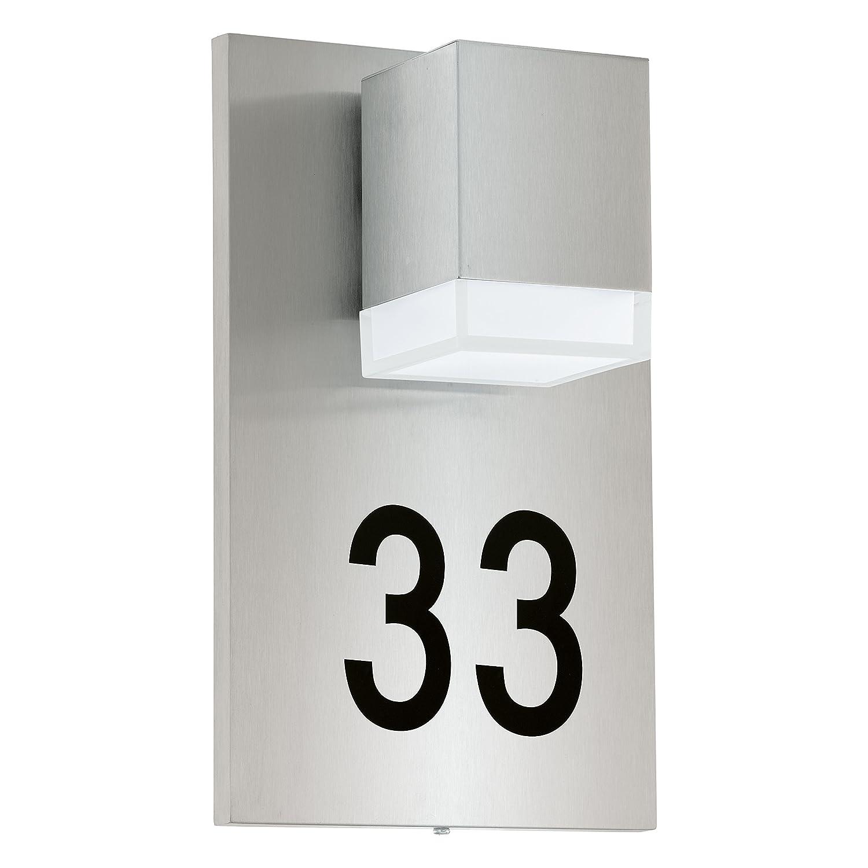 EGLO 93369 Hausnummernleuchte, Integriert, silber