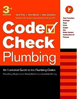 Illustrated plumbing codes design handbook aspe amazon books code check plumbing an illustrated guide to the plumbing codes code check plumbing fandeluxe Gallery
