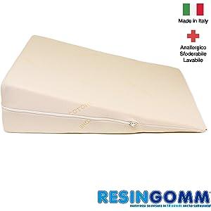 Cojín Anti Reflujo Gástrico Esofageo para adultos. Sfoderabile y Lavable, de alta calidad Resingomm
