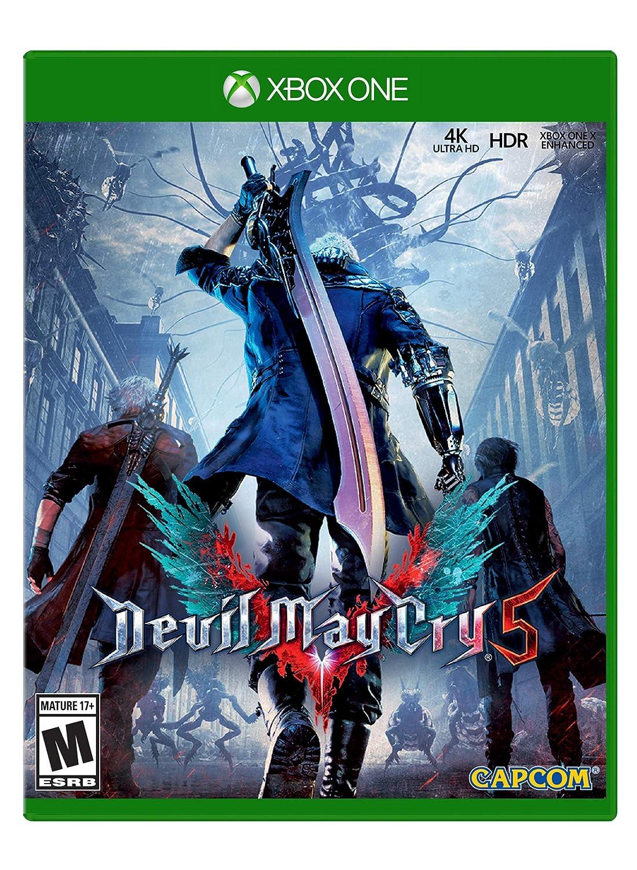Amazon Com Devil May Cry 5 Xbox One Capcom U S A Inc Video Games