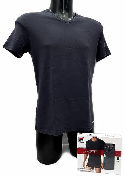 Fila Camiseta interior - para hombre gris/plateado M