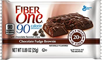 2-Pack Fiber One 90 Calorie Brownie Bars (18 Count)