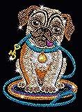Sequin Art Pug Dog Lily