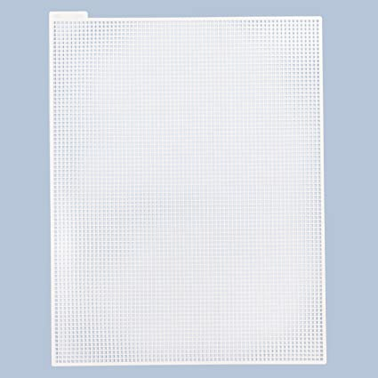 3f3e9a789 Asian Hobby Crafts Plastic Cross Stitch Canvas Sheet for Cross Stitch  Craft, Sewing, Embroidery, White (5 Pieces, 6 Count, 11x10-inches):  Amazon.in: Toys & ...