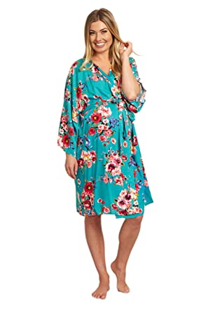 5461ced5e6acc PinkBlush Maternity Floral Dressing Robe at Amazon Women's Clothing ...