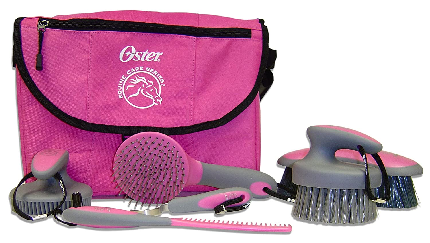 Pink Equine Care Grooming Kit by Oster