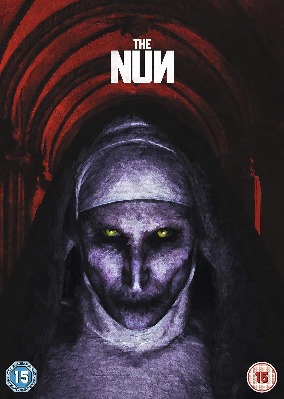 Amazon Com The Nun Dvd 2018 The Nun Superhero Film Movies Tv