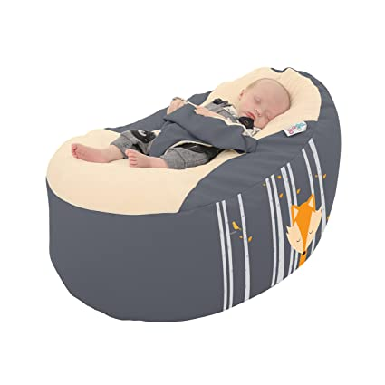 Incredible Rucomfy Gaga Plus Baby And Toddler Bean Bag Sleepy Fox Creativecarmelina Interior Chair Design Creativecarmelinacom