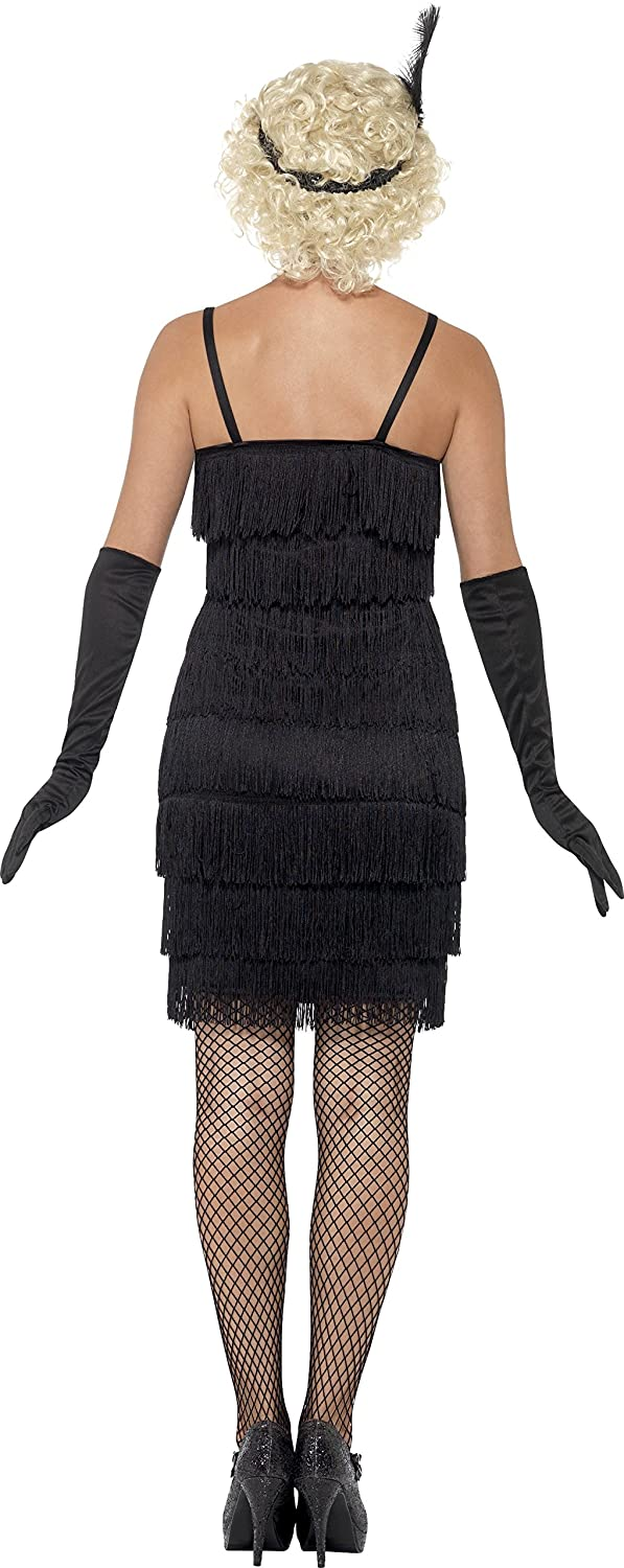 40d6c8a2 Smiffys Flapper Costume: Amazon.co.uk: Toys & Games