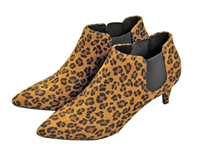 Susie Chelsea Ankle Bootie (7.5 B(M) US Leopard)