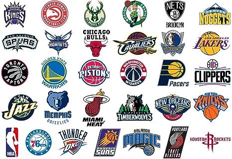 Wallp Pack de Pegatinas de la NBA: Amazon.es: Deportes y aire libre