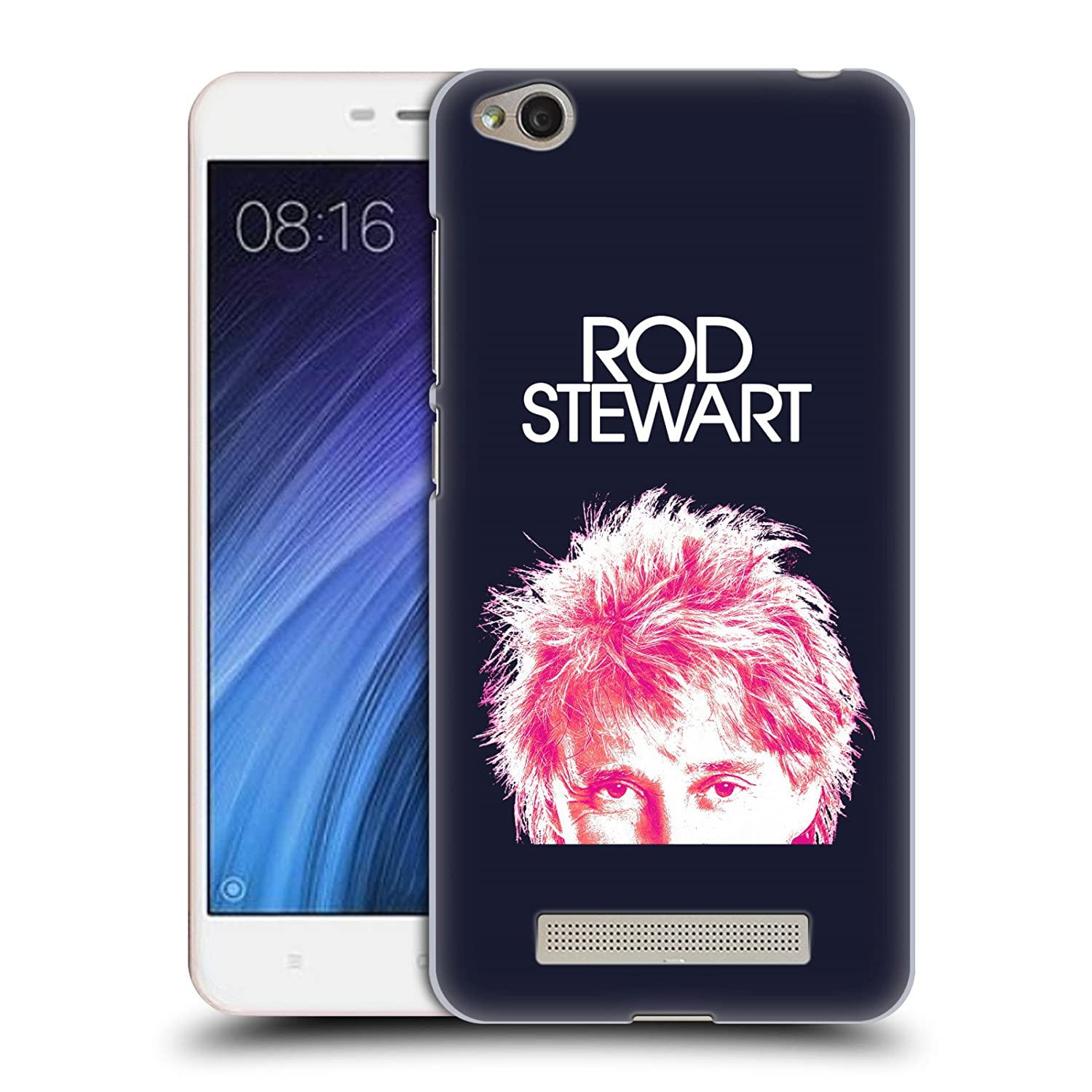 Amazon ficial Rod Stewart Neon Art Hard Back Case for Xiaomi Redmi 4a Cell Phones & Accessories