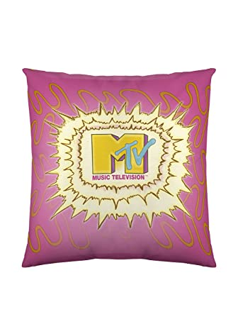 MTV 1 Funda De Cojín Lightening Rosa 40 x 40 cm, 60 x 60 ...
