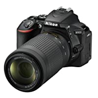 Nikon D5600Reflex digitale, 24,2Mpix, colore: nero