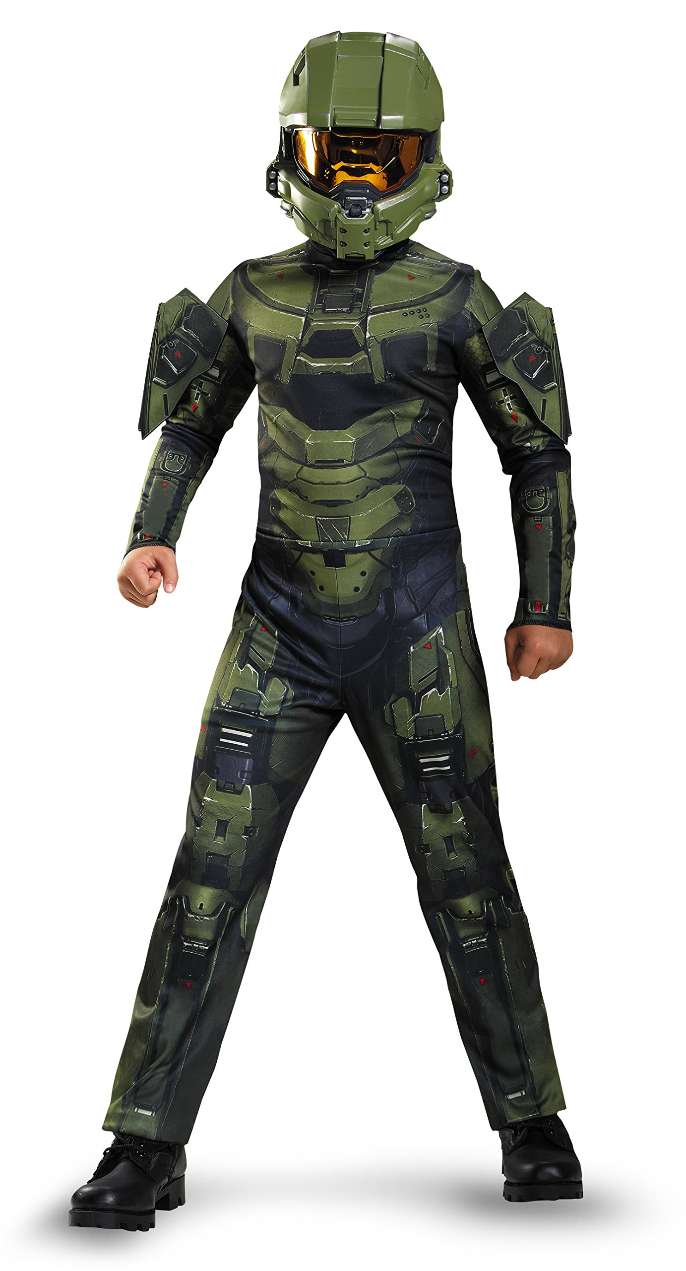 Master Chief Classic Costume, Medium (7-8), One Color by Disguise