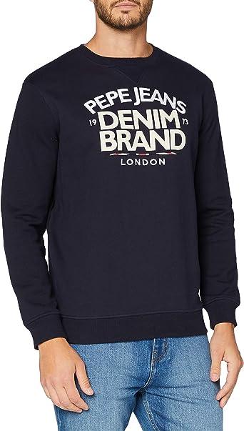 Pepe Jeans Men S Harrison Sweater Amazon Co Uk Clothing