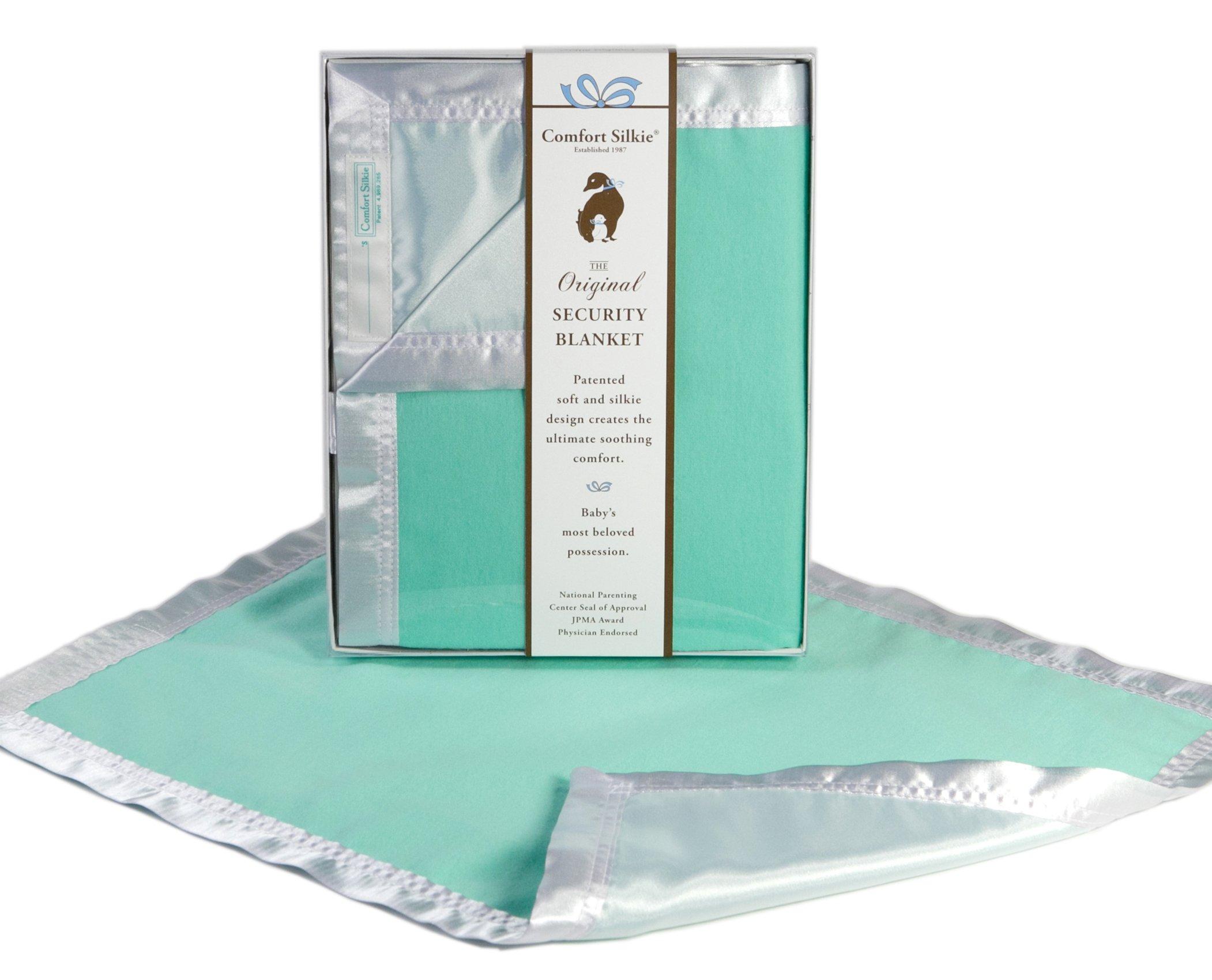 Mint COMFORT SILKIE Security Blanket ~ The Original. The Best. Award Winning.