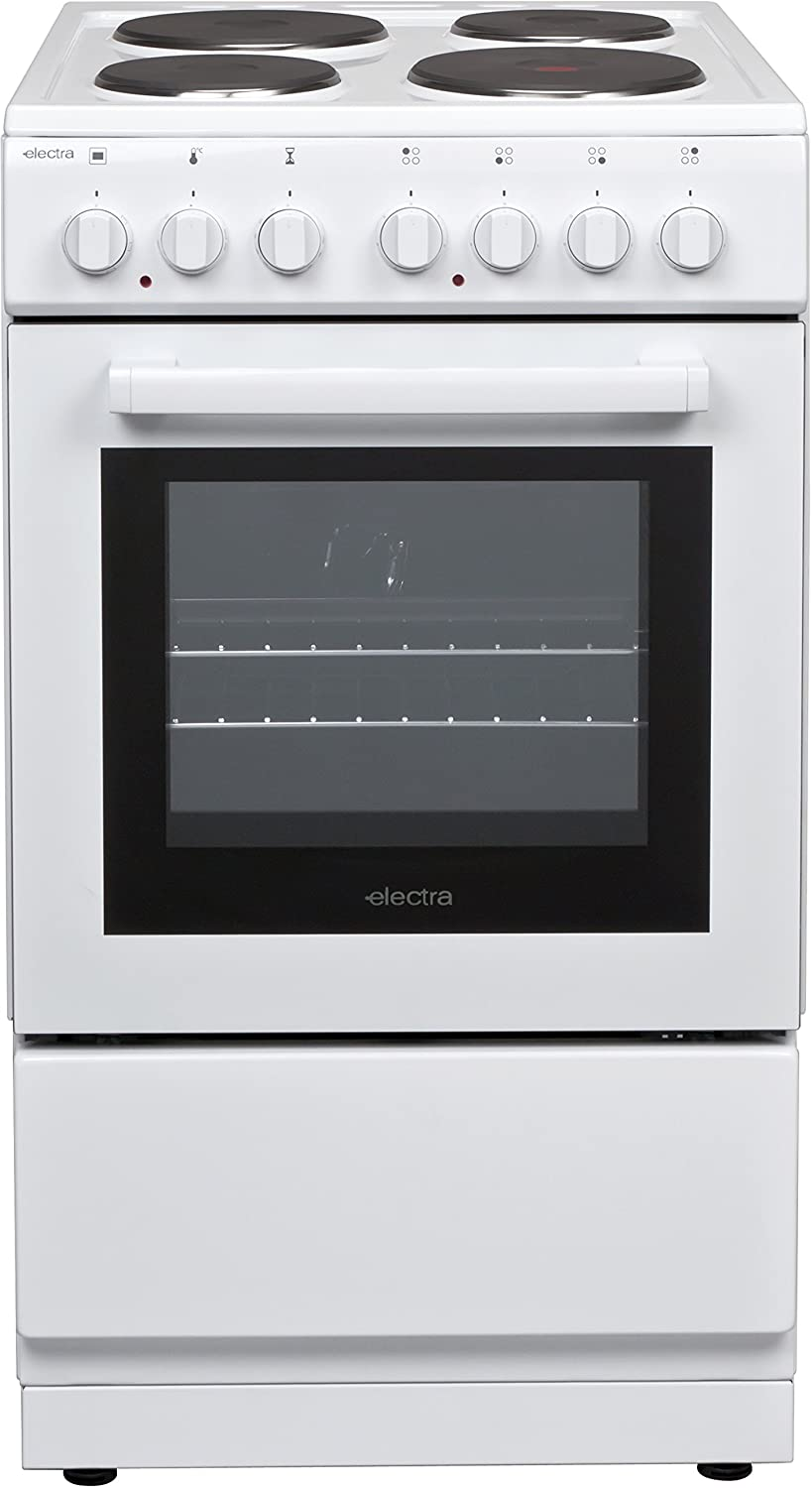 Electra SE50W Freestanding B Rated Electric Cooker - White AO
