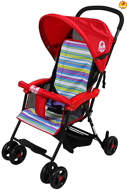 ea3e4fe57 Buy BAYBEE Shade- Baby Buggy Stroller (Red) 1 Pcs Online at Low ...