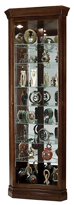howard miller drake curio cabinet by