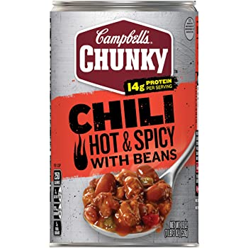 Campbell's Chunky Hot & Spicy Beef & Bean Firehouse Chili