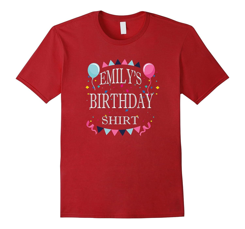 Emily Birthday Fun Girls Party Drinking Celebration T Shirt ANZ
