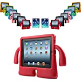 REALMAX® 3D Kids Cute Stand Shockproof Protective Case Wings Handle Cover for Apple iPad 2/3/4