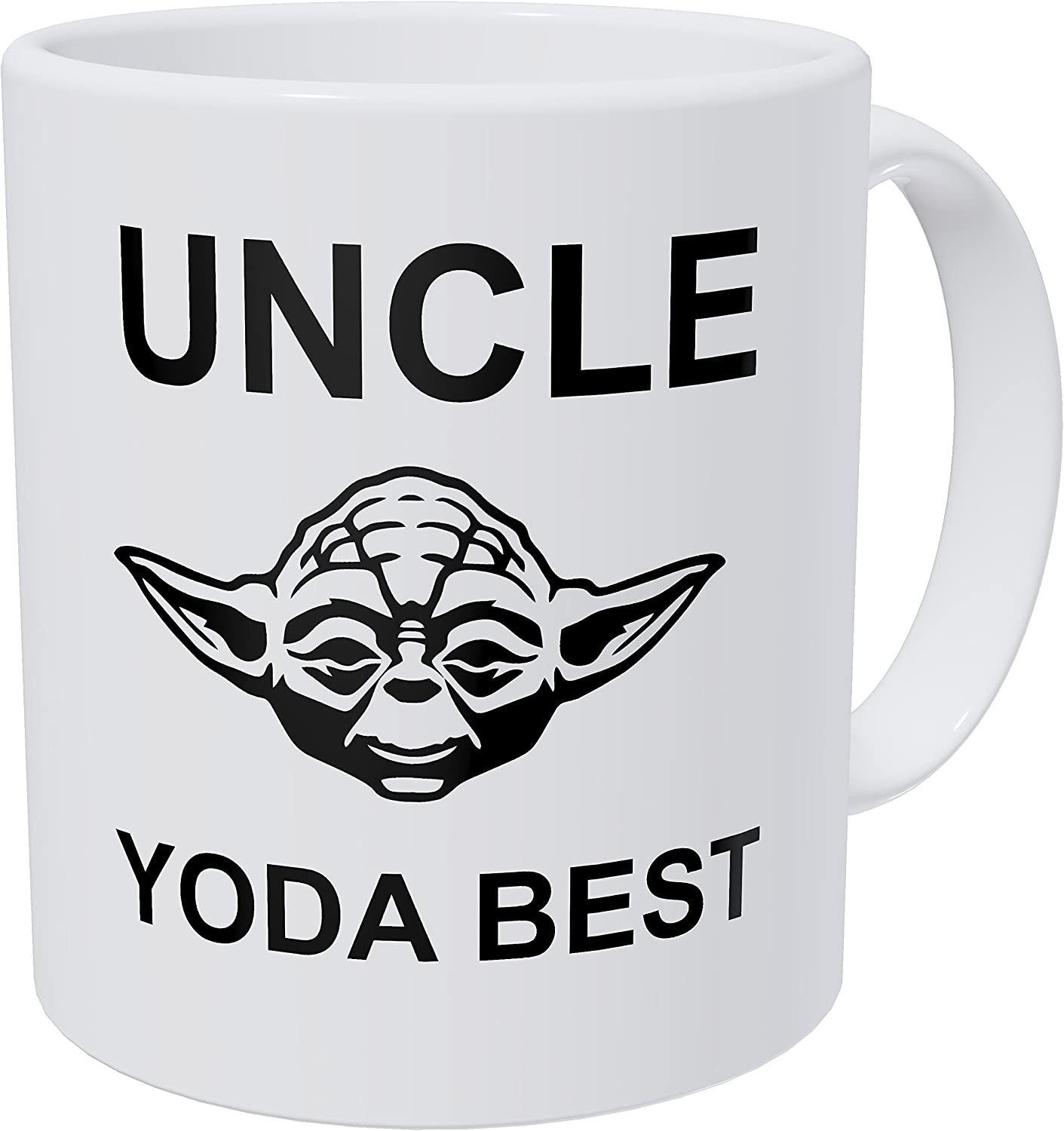Wampumtuk Uncle, Yoda Best 11 Ounces Funny Coffee Mug