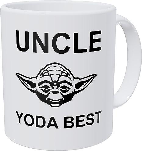 Uncle Yoda Best Coffee Mug Funny Coffee Mug Uncle Present Uncle Gifts Gift for Uncle Uncle Mug Funny Star Wars Mug Star Wars Gift