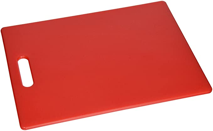 Dexas Classic Jelli Cutting Board With Handle, 11 By 14.5 Inches, Red by Dexas