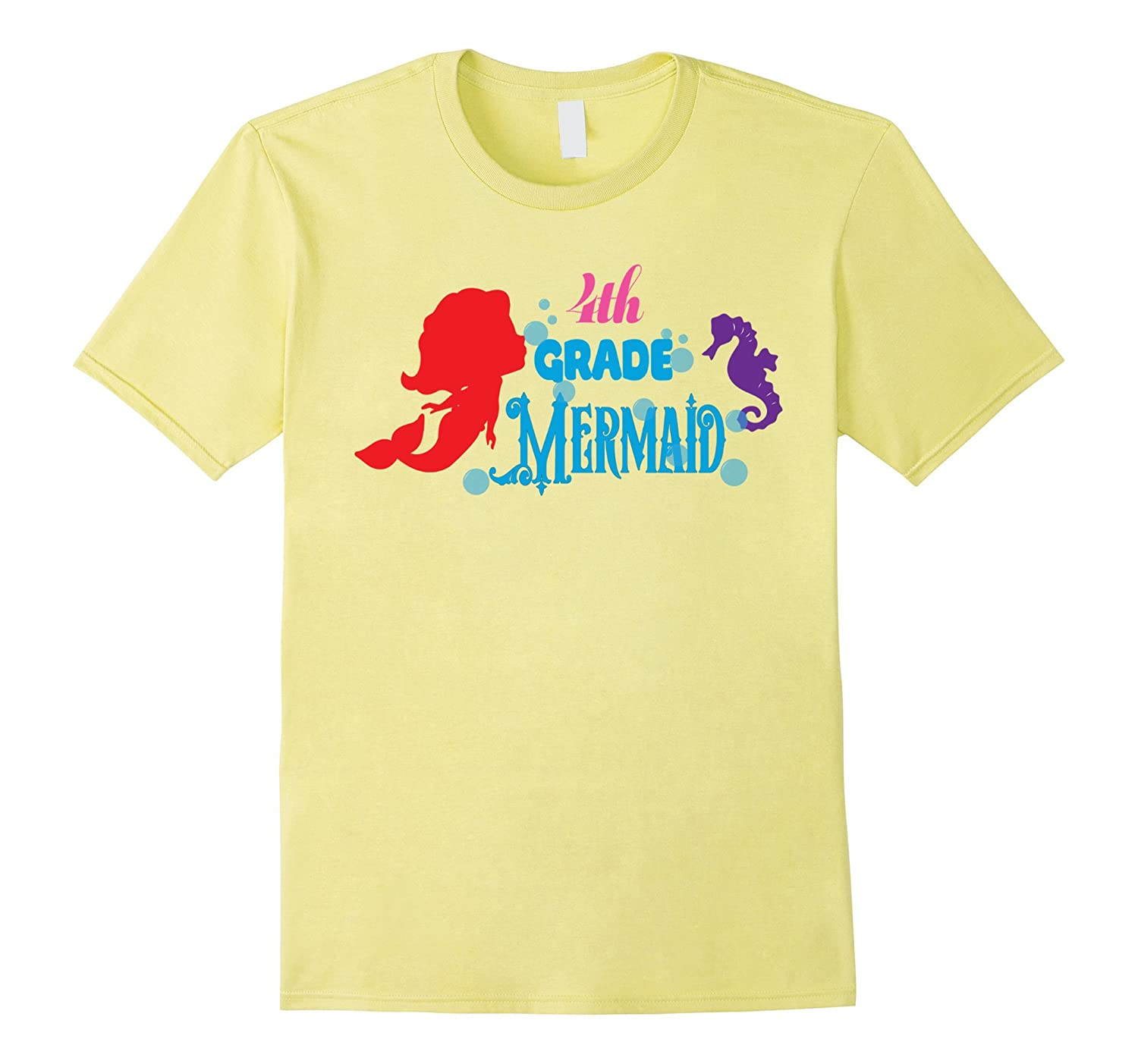 4th Grade Mermaid shirt Girl Daughter Love Mermaid