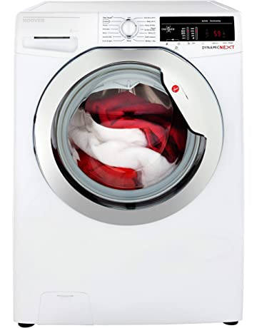 Hoover DXOA 49C3 Freestanding Washing Machine, NFC Connected, 9Kg Load, 1400rpm spin, White [Energy Class A+++]